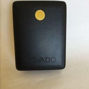 Movado watch box